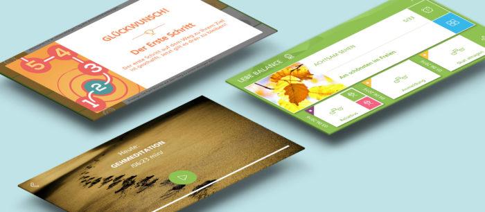 Persuasive Design der Achtsamkeits-App für die AOK